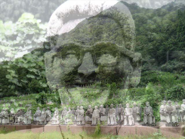 富山最強珍スポット『おおざわの石仏の森』でねるとん大作戦!