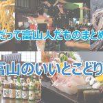【富山まとめ】観光もグルメもバッチリ!富山が初めての人もこれでOK