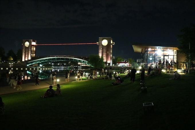 環水公園の夜景