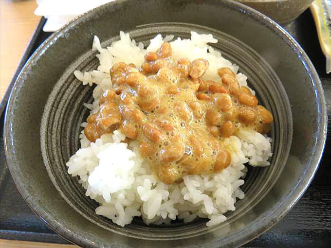 吉野家の納豆がけご飯