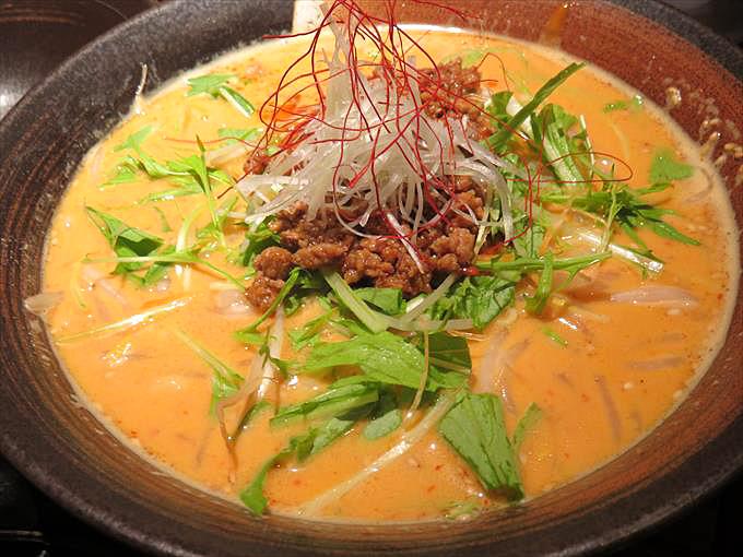 虎千代担々麺