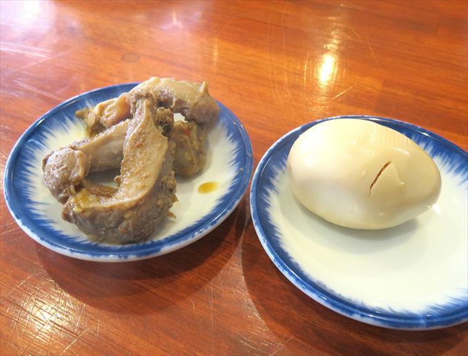 豚サガリと煮玉子