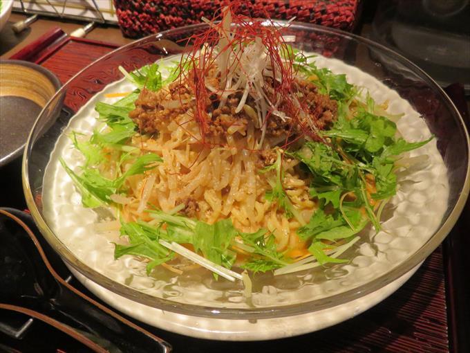 虎千代の冷やし担々麺