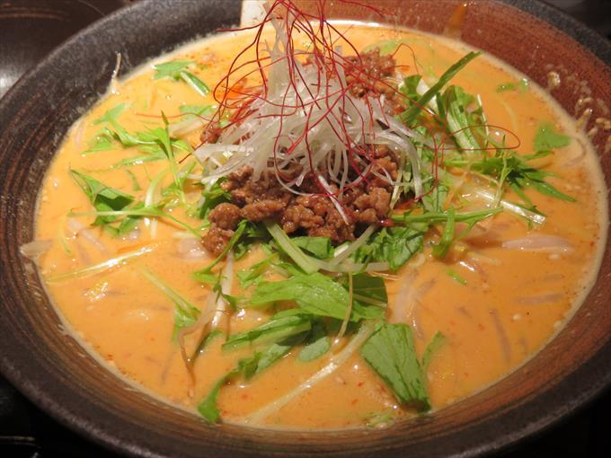 虎千代の担々麺