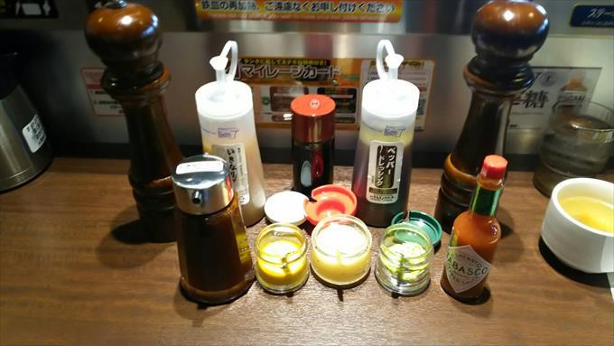 いきなりステーキのソース・調味料・ドレッシング