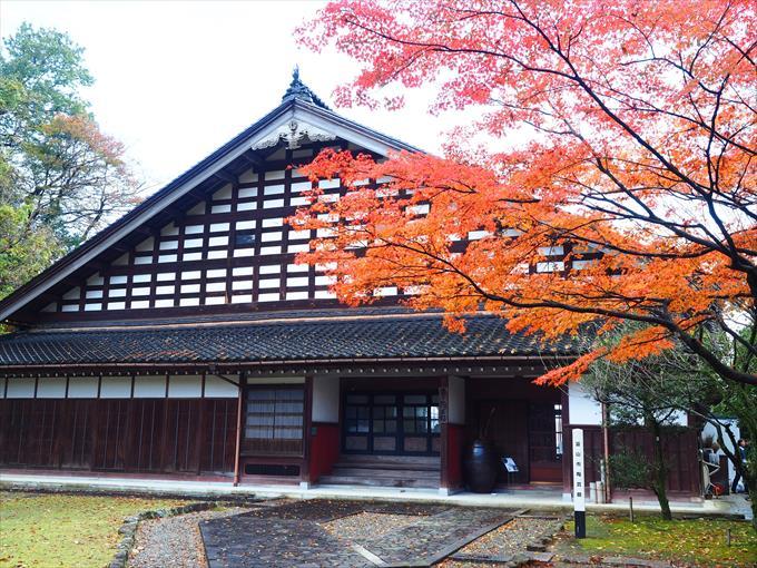 富山市民俗民芸村の建物外観1