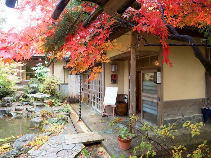 茶室円山庵入り口