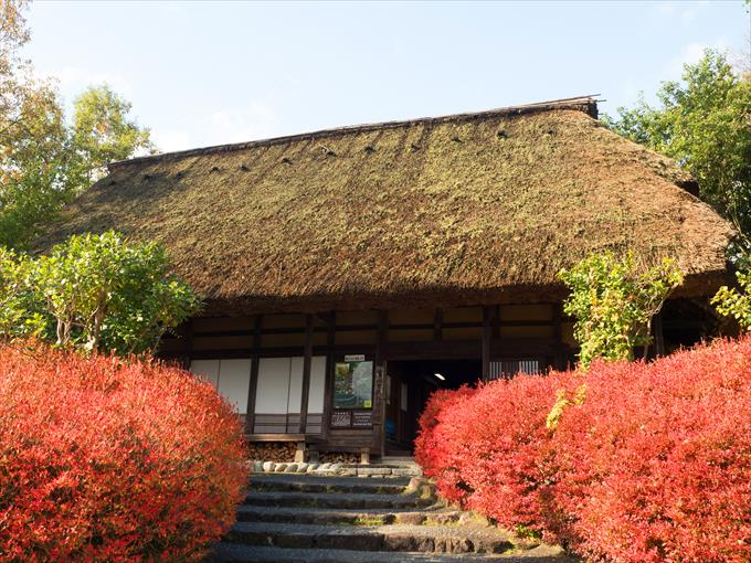 民俗民芸村の建物外観2