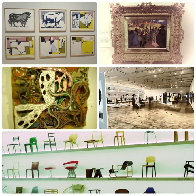 富山県美術館のコレクション展