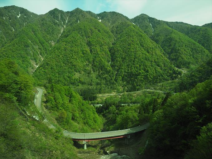 高原バスから見える景色