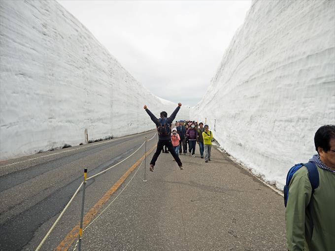 雪の大谷1