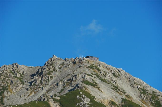 雄山の山頂