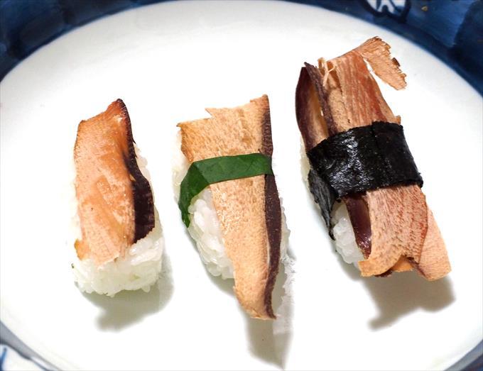 削り節寿司