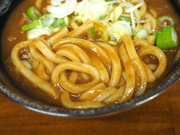 そば太郎のカレーうどんの麺