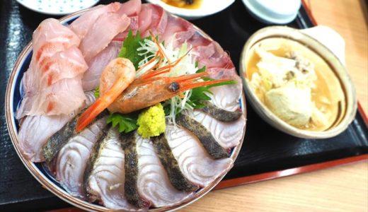 【魚市場食堂】究極の鮮度!?漁港の競り場を眼前にいただく海鮮丼