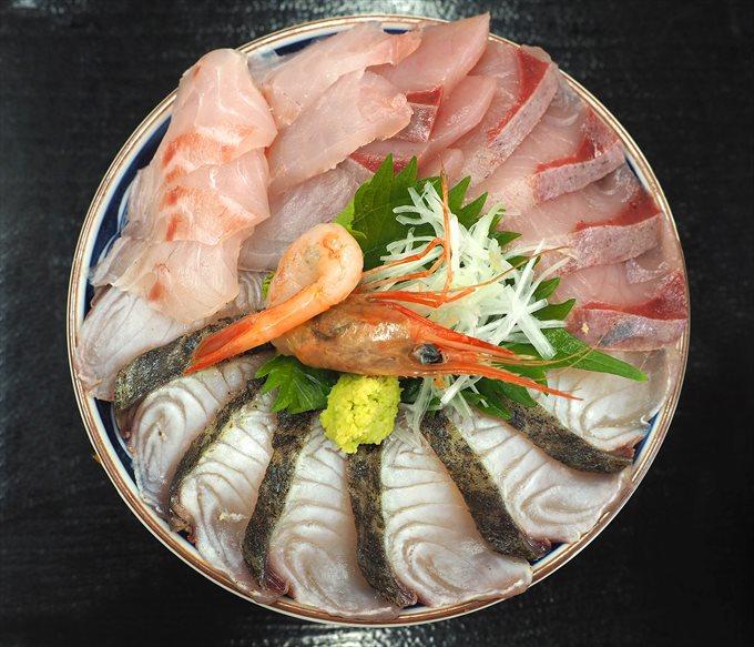 海鮮丼やわやわ盛