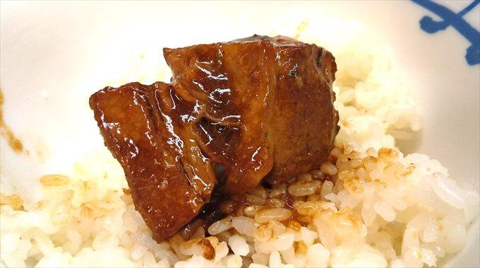 ビーフシチューの肉