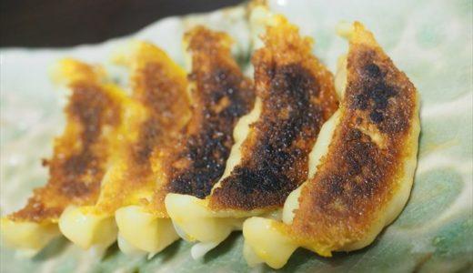 大阪王将の冷めても美味しい羽根つきカレー餃子レビュー