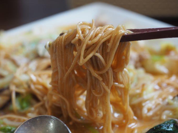 皿うどんの麺