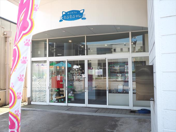 店舗入り口
