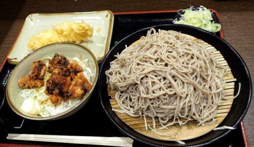 【小木曽製粉所 富山中島店】うまい蕎麦がたらふく食べられる人気店