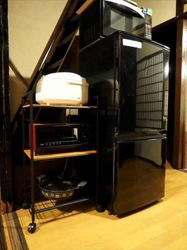 冷蔵庫・電子レンジ・オーブン