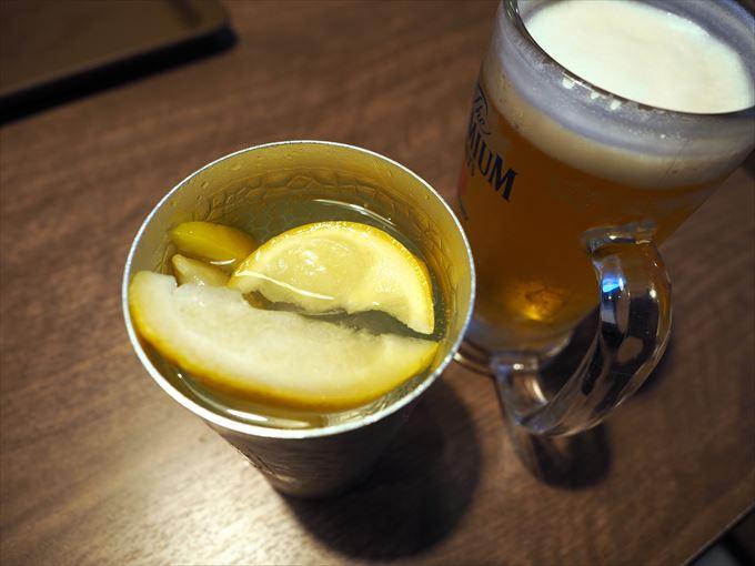 レモン&レモンサワー