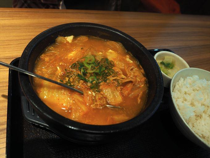 スン豆腐豚キムチ