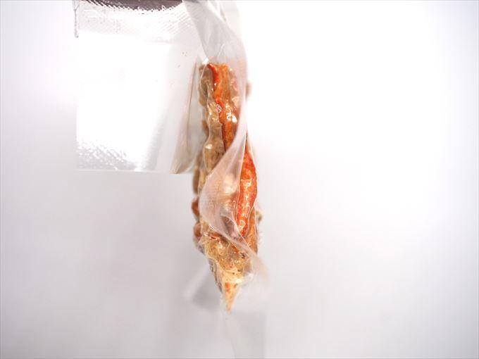 越の干蟹の厚み