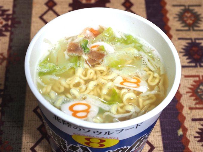 8番らーめんカップ麺